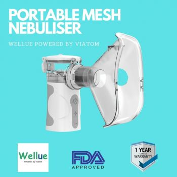 Wellue Air Force Nebulizer With Free Clinical SPO2