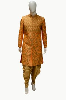 Groom's Sherwani - Premium Finish