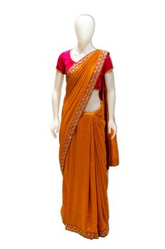 Soft Silk Boarder Saree