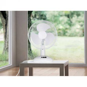 Sheffield 40cm Desk Fan - 3 Months Warranty - PL706