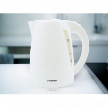 Sheffield 1.7L Cordless Kettle White - PL406