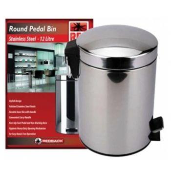 Pedal Bin / 12 Litre 39cm (Stainless Steel)