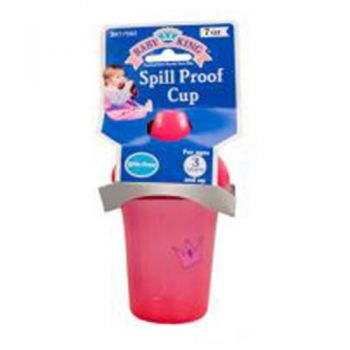 Spill Proof Cup (BPA Free) / 207ml Assorted Colours (3 Years+)