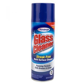 HomeBright Foaming Glass & Surface Cleaner / 368g Streak Free