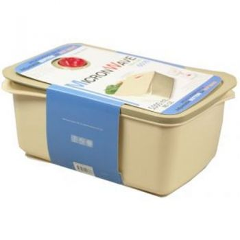 Microwave Container / 5000ml 19x27.5x12.5cm BPA FREE (Adjustable Button For Hot Wave)