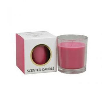Tranquillity Collection Jar Candles / Scented (7 x 8cm) Wild Peony (Burns up to 25 hours)