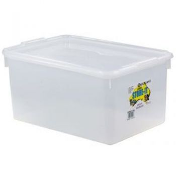 Store It Container With Lid / 46 x 32 x 23cm (20Lt) BPA Free (Made in Australia)