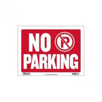 Sign - Large Size / 30.5 x 40.5cm (No Parking)