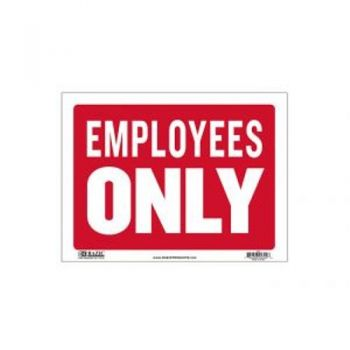 Sign - Large Size / 30.5 x 40.5cm (Employess Only)