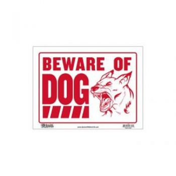 Sign - Large Size / 30.5 x 40.5cm (Beware of Dog)