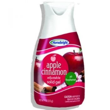 HomeBright Gel Air Freshener / 255g (Apple Cinnamon)
