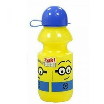 Minions PP Squeeze Bottle With Dome Cap / 414ml (BPA Free) In CDU