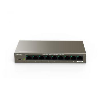 TENDA 9-Port Gigabit Desktop Switch with 8-Port PoE
