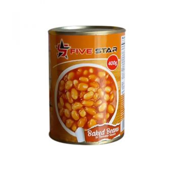 Five Star Baked Beans in Tomatoe Sauce 400g