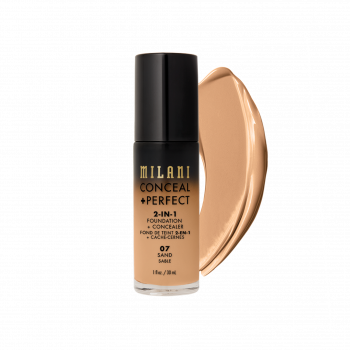 MILANI- 2-IN-1 FOUNDATION+CONCEALER-SAND
