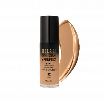 MILANI- 2-IN-1 FOUNDATION+CONCEALER-TAN