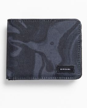 RICPURL MENS BLENDED PU ALL DAY WALLET 364294-BLK