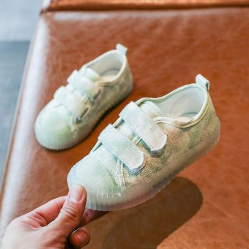 GREEN JELLY SHOES