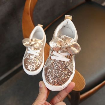 Breathable Bow Sneakers For Stylish Girls