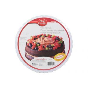 Cake Turntable / 30.5cm Plastic (Betty Crocker)