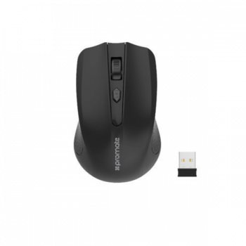 PROMATE ERGONOMIC WIRELESS MOUSE 2.4GHZ WIRELESS TECHNOLOGY