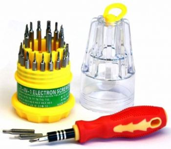 JACKLY JK-6036-A 31-in-1 Multi-function Screwdriver for Phone / laptop etc.