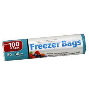 Freezer Bags Roll / 20 x 30cm (Pack of 100)