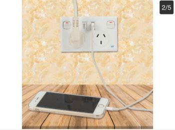 Dual USB Power Point