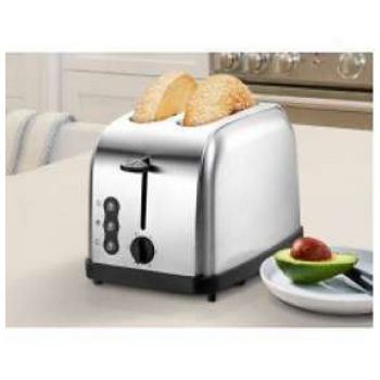 Sheffield Stainless Steel Toaster - 2 Slice - PL840