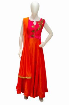Soft Silk Anarkali