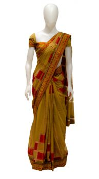 Printed Boarder Saree