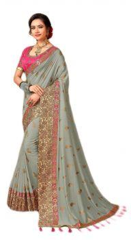 Elegant Soft - Silk Saree