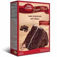 Betty Crocker Dark Chocolate Cake Mix 432g