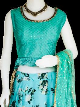 Ladies Lengha/ Choli Suit PN-309411157255