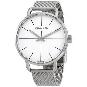 CK Even Quartz Silver Dial Ladies Watch