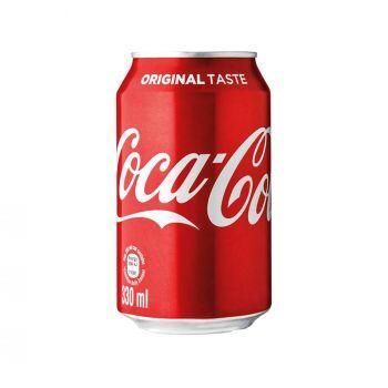 Coca-Cola Classic Can Coke 330ml