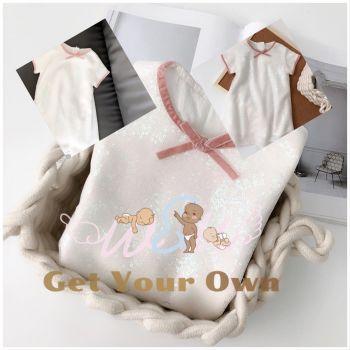 Traditional collar design baby dress