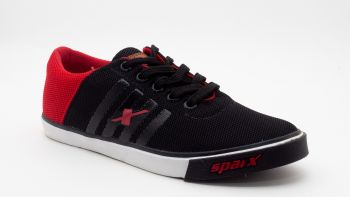 SP30 - Sparx Casual Sneakers - Black/Red