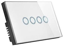Smart Vale - 4 Gang Touch Smart Switch