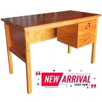 Deskply - Study Desk With 2 Drawer Ply Top - 1200W X600D