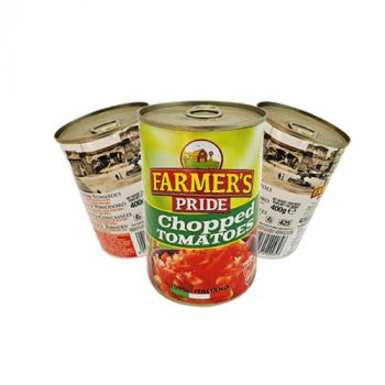 Farmers Pride Chopped Tomatoes 400g