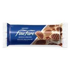 Finefare Mocha Cream Biscuit 120g