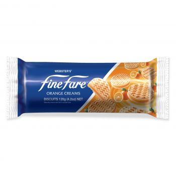 Finefare Orange Cream Biscuit 120g