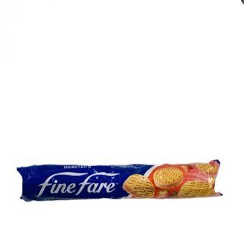 Finefare Strawberry Cream Biscuit 250g