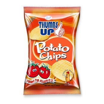 Thumbs up Potato Chips Tomato 45g