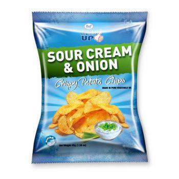Thumbs Up Potato Chips Sour Cream  & Onion 45g