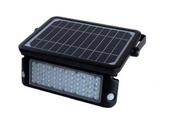 Glitz TASCO Solar LED Flood Light With PIR Motion Sensor 1080