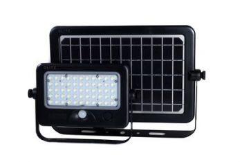 Glitz TASCO Solar LED Flood Light With PIR Motion Sensor 1100