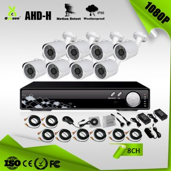 2MP 8CH CCTV Kit