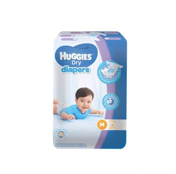 Huggies Dry Diapers M 4's 5-10kg